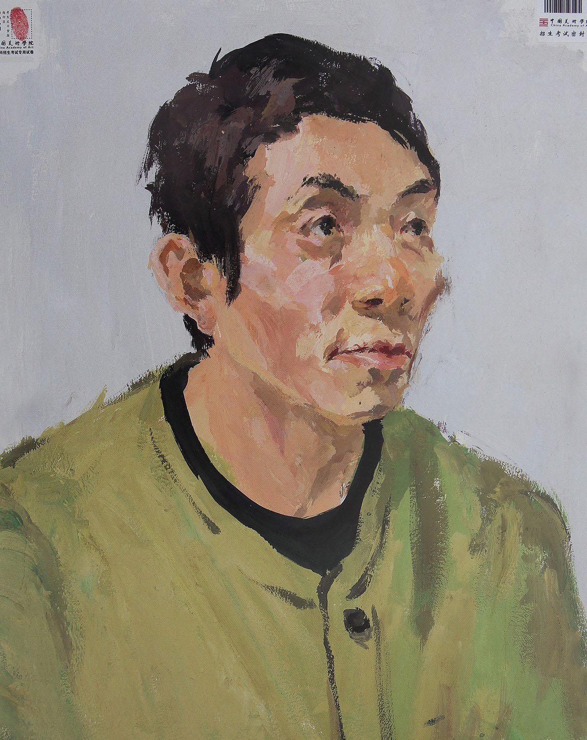 2015年中国美术学院色彩高分卷